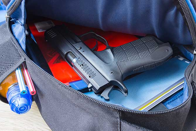 Ethical and Legal Considerations When Patients Disclose Knowledge of a Weapon in a School featured image